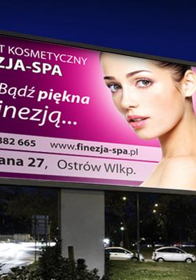 Reklama zewnętrzna, billboardy, oklejanie smochodów, banery reklamowe